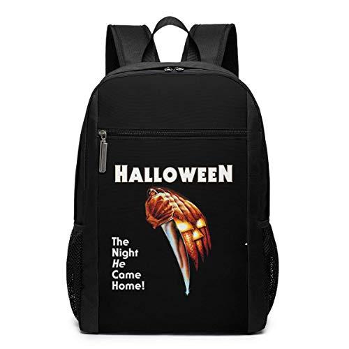 ZYWL Halloween Laptop Rucksack, Reiserucksäcke School College Bookbag für Frauen und Männer 17 Zoll