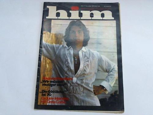 Das Magazin mit dem Mann. Heft 8, August 1975