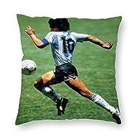 マラドーナ(Diego Armando Maradona) クッション枕カバー枕北欧の装飾枕カぬいぐるみ 枕カバー45 x 45cm