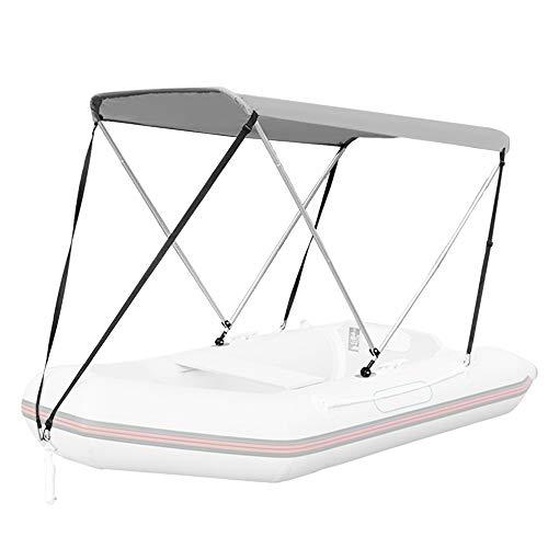Roeam Sonnensegel Wasserdicht Anti-UV Für Schlauchboote, Kayak, 120 x 160 x 110 cm, Geeignet für 3,3-4,6 Zoll breite Boote