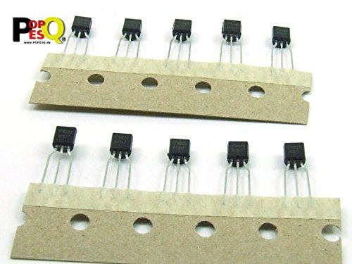 POPESQ® - 10 Stk. x BC516 Transistor PNP Darlington / 10 pcs. x BC516 Transistor PNP Darlington #A1270