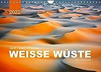 Sand, Felsen und Packeis. Weisse Wueste (Wandkalender 2022 DIN A4 quer): Geniessen sie die warmen, farbenfrohen Landschaften, die mit ihrer Ruhe und Einsamkeit zur Entspannung einladen. (Monatskalender, 14 Seiten )