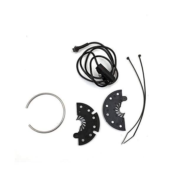 Electric Bikes RICETOO Electric Bicycle Pedal KT-D12L 12 Magnets E-bike PAS System SM/Waterproof Plug Assistant Speed Sensor Accessories