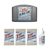 Cleaning Kit Compatible With N64 (Nintendo 64) Console And Video Game Cartridges By 1UPcard