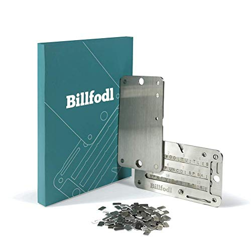 Steel Bitcoin Wallet for Hardware Wallet Backup - Cold Wallet Backup compatible with Trezor One, Ledger Nano S and KeepKey hardware wallet