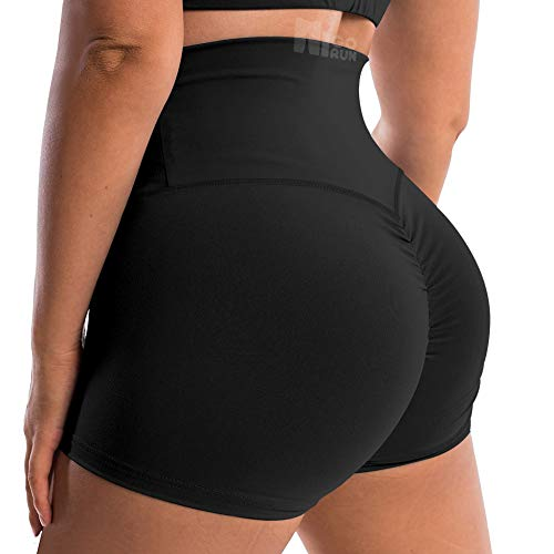 HIGORUN Women's High Waist Yoga Sho…