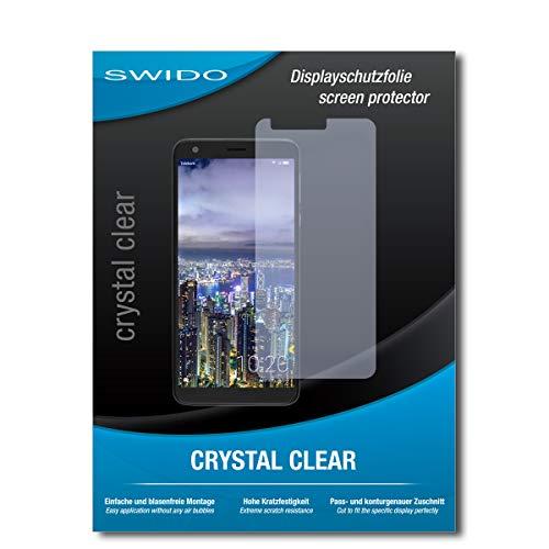 SWIDO Bildschirmschutz für Sharp Aquos B10 [4 Stück] Kristall-Klar, Hoher Festigkeitgrad, Schutz vor Öl, Staub & Kratzer/Schutzfolie, Bildschirmschutzfolie, Panzerglas Folie