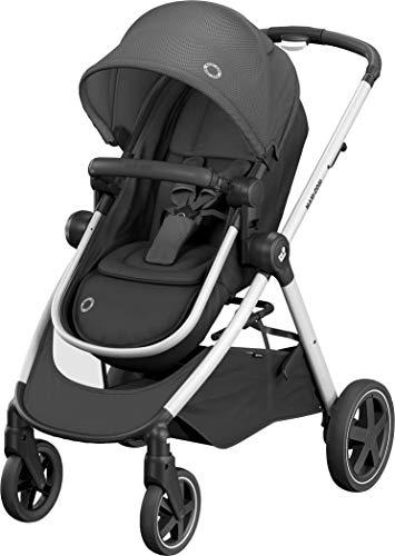 Maxi-Cosi Maxi Cosi Zelia 'Essential Black' - Urbano 2 in 1 Kinderwagen schwarz
