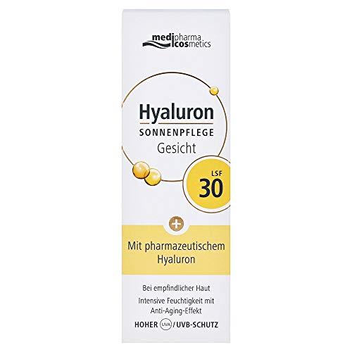 medipharma cosmetics HYALURON SONNENPFLEGE Gesicht Creme LSF 30, 50 ml