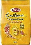 Barilla Pasta all'Uovo Ripiena Le Emiliane Tortellini con Prosciutto Crudo, 500 g