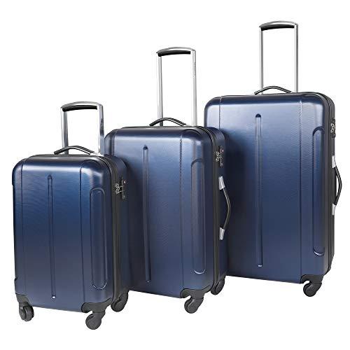Vesgantti Cabin Suitcase with TSA Lock - Lightweight Anti-Scratch Hand Luggage - 4 Wheel...
