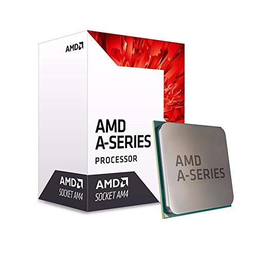 AMD A series A8-9600 3.4GHz 2MB L2 Box processor - processors (AMD A8, 3.4 GHz, Socket AM4, PC, 28 nm, A8-9600)