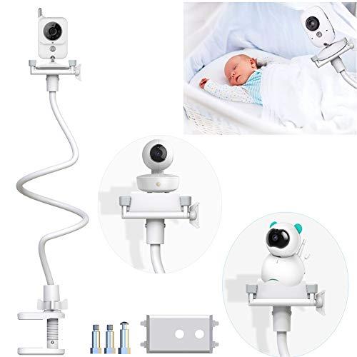 Soporte para Cámara de Vigilabebes Soporte Universal con Palo Flexible para Fijar...