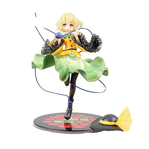 Anime Geschenk Anime Modell Puppe Quesq Touhou-Projekt fragend in die eng geschlossene Schüler der KOI-Spielzeug-Action Figuren-Skulptur 20cm verliebt