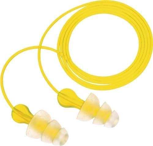 3m protezione udito EN352–2Tri di flange SNR = 29db vinile della corda con Band, sacchetto di polietilene, 1Confezione