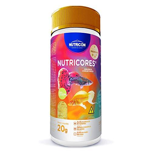 Nutricores 20gr Nutricon Para Todos Os Tipos de Peixe Adulto