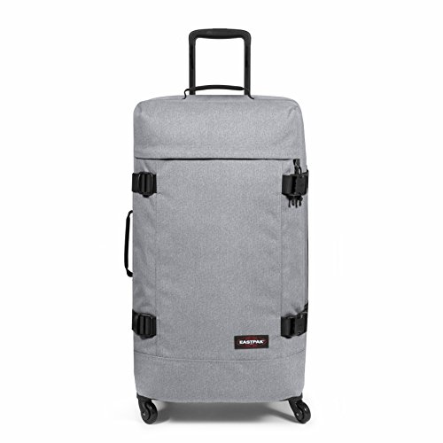 Eastpak Trans4 L Suitcase, 75 cm, 80 L, Grey (Sunday Grey)