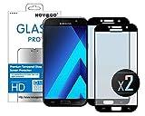 Novago Compatible avec Samsung Galaxy A5 2017 (A520) Pack de 2 Films Protection écran en Verre...