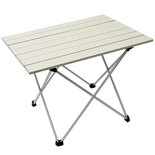 DX picknickbord, utomhus lätt camping bord picknickbord, vikbar trädgårdsgrillning matbord för 2-4 personer, bärbar aluminium vandring fiskebåd, max belastning 20 kg svart