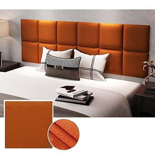 LIANGJUN Rückenlehne Bett Kissen 3D Wandpaneele Soft Case Kalte Isolierung Rückenlehne Gemütlich Kinderbett, Doppelbett, Schlafzimmer (Color : A, Size : 180X60X3CM)