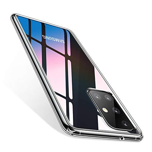 TORRAS Ultra Clear Kompatibel mit Galaxy A51 Hülle Transparent [Anti-Gelb] Handyhülle Samsung Galaxy A51 Hülle Case Hard Back Weich Silikon Cover Klar Schutzhülle für Samsung Galaxy A51 (Transparent)