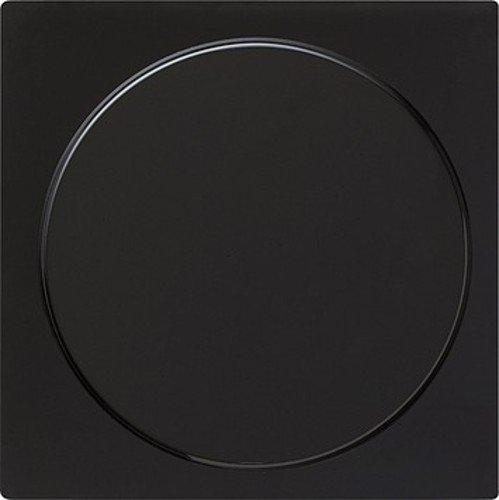 Gira 026847 Blindabdeckung mit Tragring S, schwarz