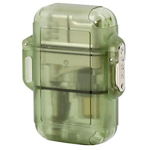 WINDMILL(ウインドミル) ライター ZAG ターボ 耐風仕様 グリーンスモーク 362-0029-01 53 (h) x 42 x 16 mm