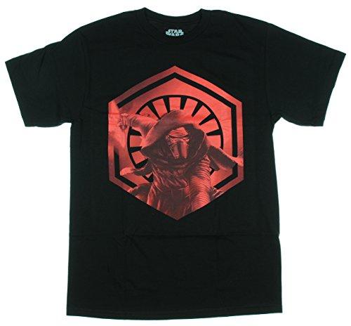Star Wars Kylo Ren First Order Symbol Mens T-Shirt (Small)