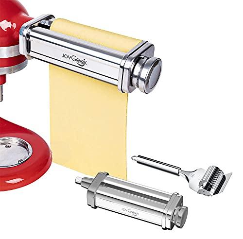 JoyGeek Pasta Roller Sheet Attachment for KitchenAid Stand Mixer,...