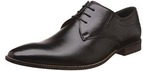 Saddle & Barnes Men's Black Formal Shoes - 7 UK (41 EU) (HS-76)
