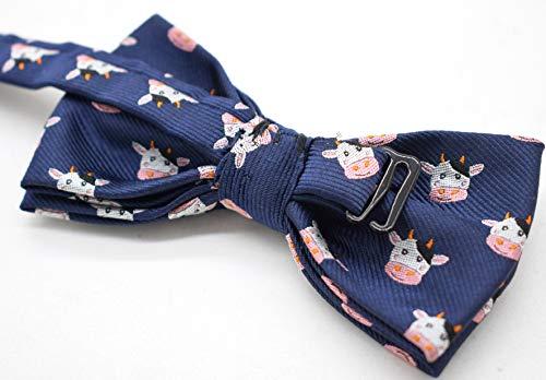 Carahere Boys Bow Ties Handmade Adjustable Pre-Tied Pattern Bow Ties For Kids