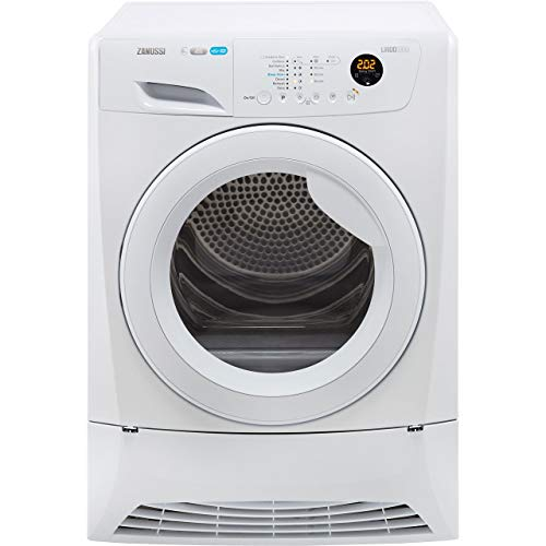 Zanussi ZDH8903W Freestanding  Rated Condenser Tumble Dryer - White