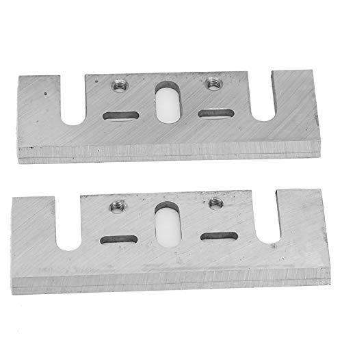 Hoja de cepillado estable Un par HSS Carpintería Manual Cepilladora eléctrica Hoja...