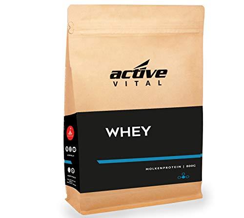 Whey-Protein-Pulver ACTIVEVITAL 800g Neutral aus Deutschland