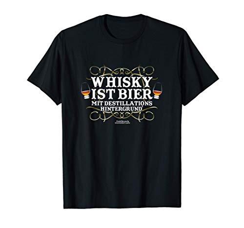 Whisky Design Spruch Whisky ist Bier für Fans von Whisky T-Shirt