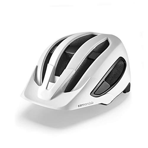 Cannondale Hunter MTB, casco da bicicletta, bianco, 2021, taglia: S/M (52-58 cm)