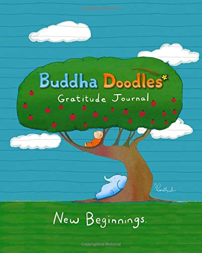 Buddha Doodles Gratitude Journal: New Beginnings