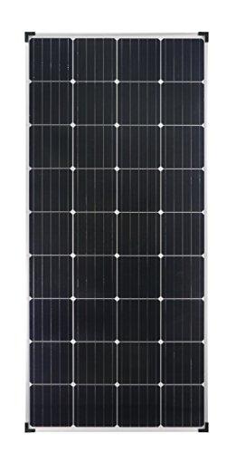 enjoysolar® Mono 170W Monokristallines Solar panel 170Watt ideal für Wohnmobil, Gartenhäuse, Boot (Mono 170W)