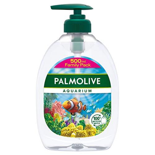 Palmolive Flüssigseife Aquarium, 1 x 500 ml - Seife zur sanften Reinigung der Hände, Handseife mit verschiedenen Motiven (Motiv nicht wählbar), dermatologisch getestet
