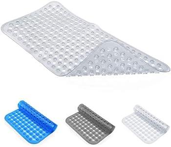 Lepo 35.5 Inch x 15.5 Inch Non Slip Baby Shower Mat