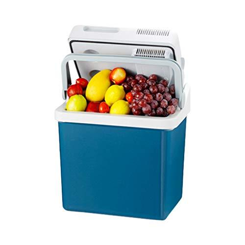 Mini MENA UK 21 Liter Kühlbox | KÜHLT und WÄRMT | Thermo-Elektrische Kühlbox 12 Volt und 220 Volt Kühlschrank | für Auto und Camping | Blau |