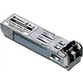 TRENDnet Gigabit SFP LC Module, TEG-MGBSX, Multi-Mode, Mini-GBIC, Up to 550 M (1800 ft), Compatible w/Standard SFP Slots, Hot Pluggable, Compliant w/IEEE 802.3z Gigabit Ethernet, Lifetime Protection 3 The TEG-MGBSX Mini-GBIC Multi Mode module has a LC Duplex connector-type. Compliant with IEEE 802.3z Gigabit Ethernet This Multi-Mode LC Type module spans distances up to 550 m (1800 ft.) Easy to Use with easy plug and play installation. Hot-pluggable. Used in fiber switches, routers, NIC, servers or other fiber optic equipment with SFP ports. Compatible with standard SFP slots