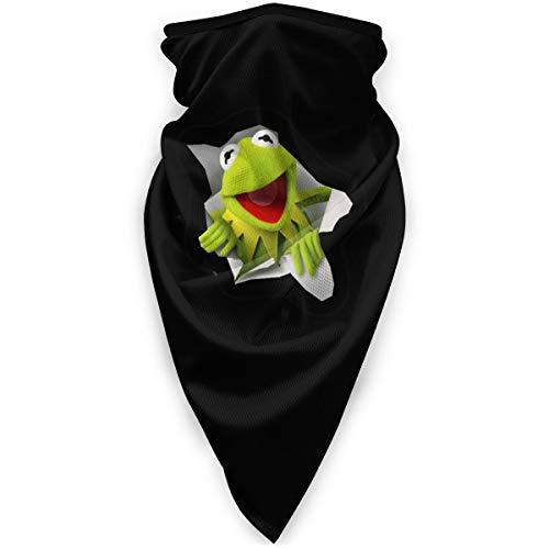 Kermit Multifunctional Sun Mask, Neck Gaiter,Breathable Seamless Tube Face Shield,Ski Mask,Stretchable Tubular Mask, Bandana, Balaclava, Great for Men & Women
