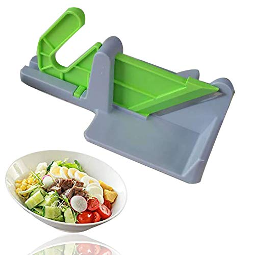 Handheld Vegetable Chopper Dicer Slicer Cutter 2 In 1 Food Chopper With Cutting Board For Cheese, Fruits And Vegetables