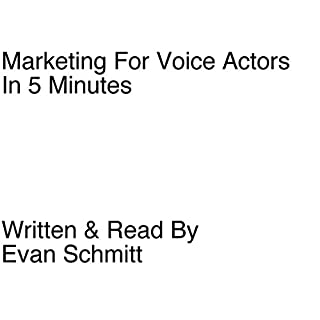 Marketing for Voice Actors in Five Minutes cover art