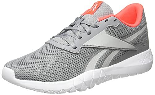 Reebok Herren Flexagon Energy TR 3.0 MT Cross Trainer, Pure Grey/Pure Grey/Orange Flare, 41 EU