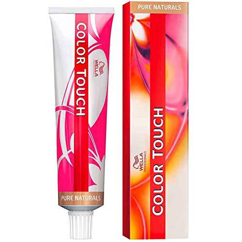 8/03 Blond clair intense doré naturel Wella Color Touch Pure Naturals Sans ammoniaque 60ml