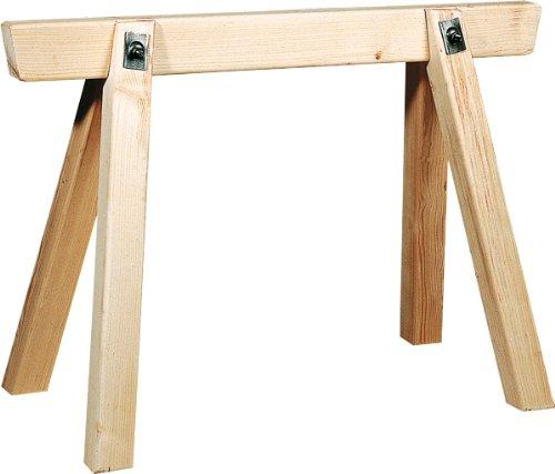 PROFI bouwrage/steigerbok van hout 150 cm lang, 70 cm hoog