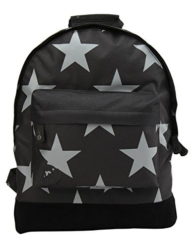 Mi-Pac Stars Xl Backpack Mochila Tipo Casual, 41 cm, 17 Litros, Black/Grey