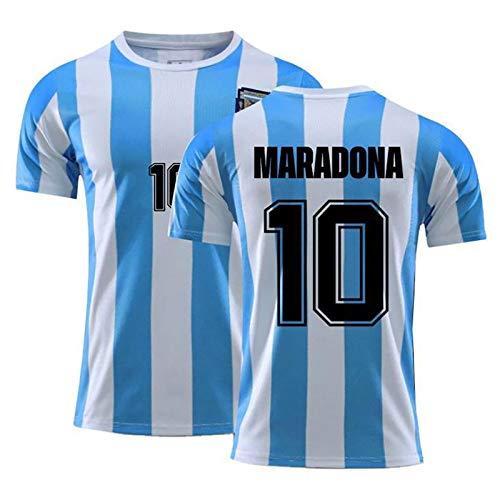 Diego Armando Maradona Numero 10 Camiseta De Fútbol Club De Fútbol Argentina Copa Mundial Mano De Dios,A,160